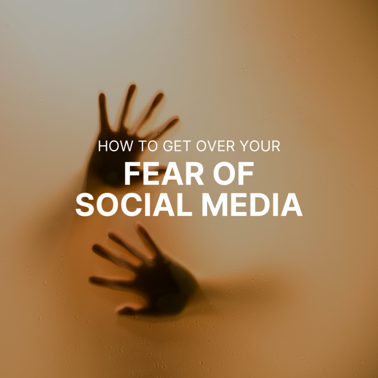 How to Get Over Your Fear of Social Media