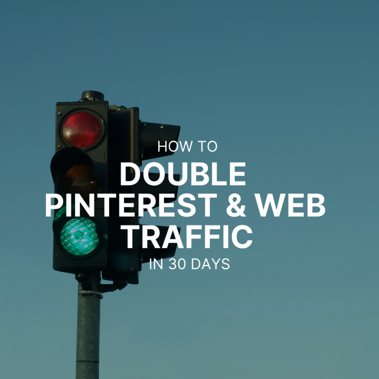 How I doubled my Pinterest traffic in 4 weeks, and why it is so important for your web traffic