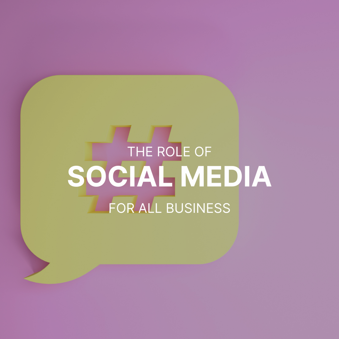The role of social media for all business