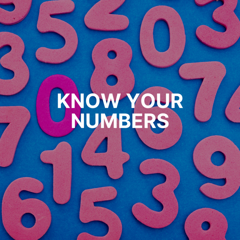 Start with the basics: marketing planning by numbers