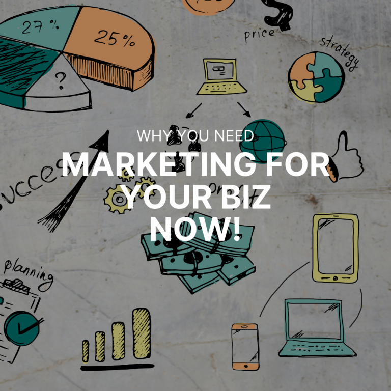 You may have a small business but this is why you NEED marketing!