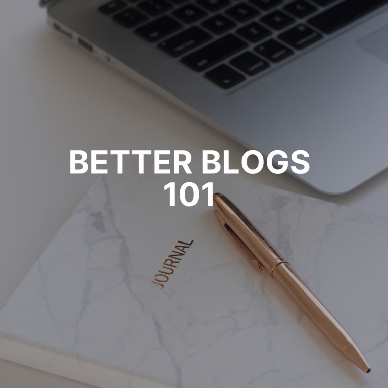 Ever had an epiphany on the side of a mountain? Or better blog writing 101