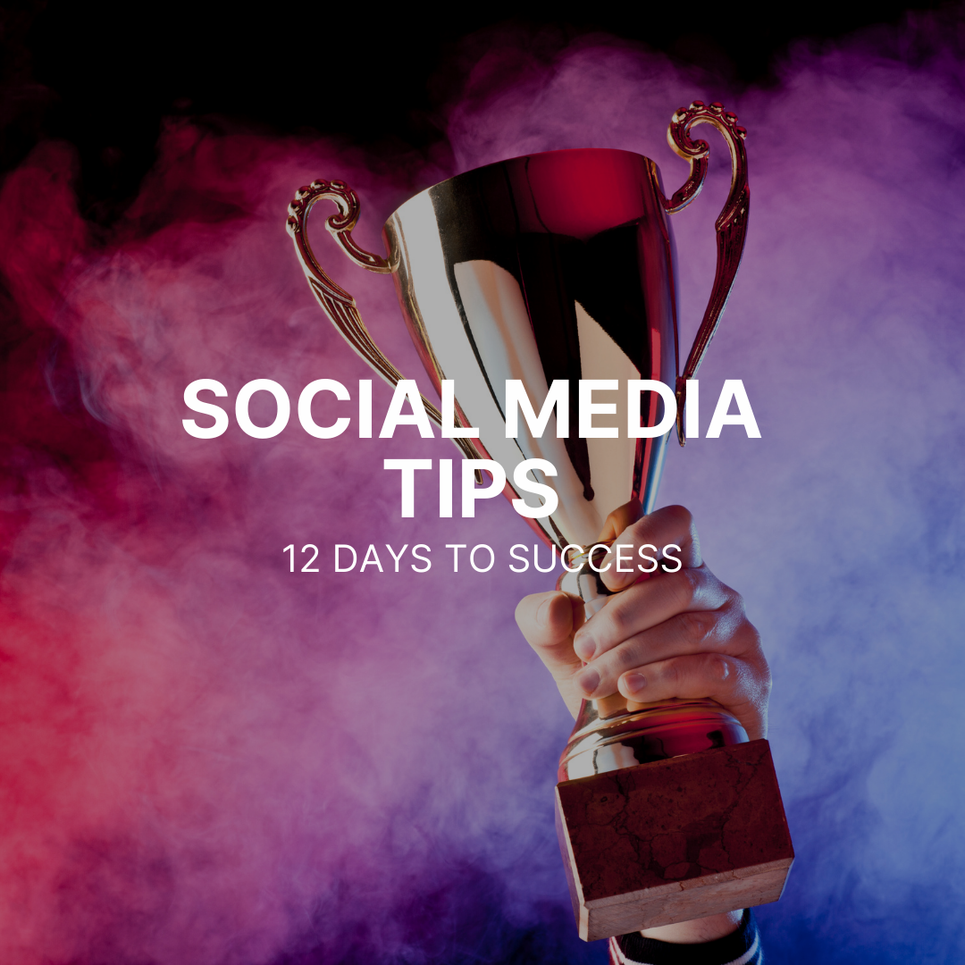 Social Media Tips: 12 days to success