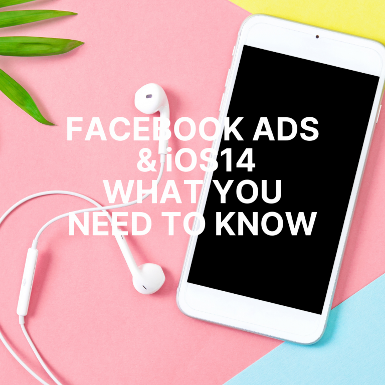 What should I do about effects of Apple iOS 14 on Your Facebook Ads